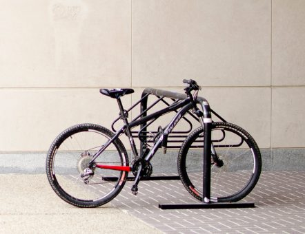 bicycle parked