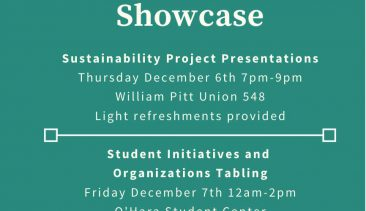 The 3rd Annual Student Sustainability Showcase