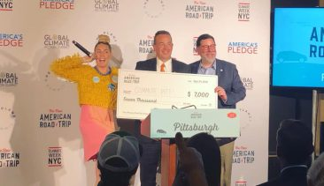 CommutePitt Wins $7,000 Grant From New American Road Trip