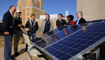 Pitt's Commitment to Local Solar Energy