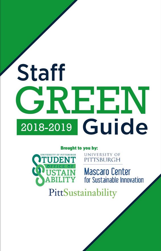 Pitt 2018-19 Staff Green Guide