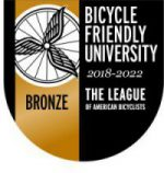 Bronze award Bicycle Friendly University