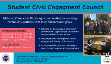 Student Civic Engagement Council 2019-2020 Applications