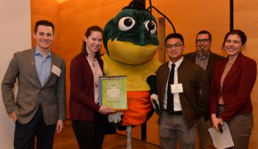 Pitt Food Recovery Heroes Receive PRC Zero Waste Excellence Award