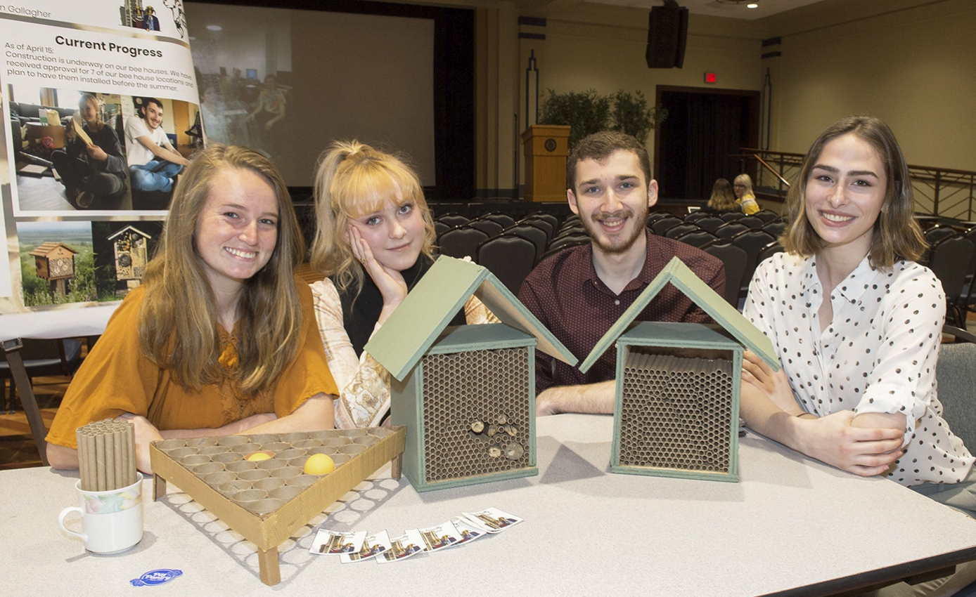 Bee Houses Keep Pitt Abuzz