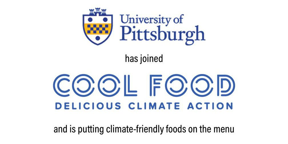 Pitt Signs Cool Food Pledge to Cut Food-Related GHG Emissions