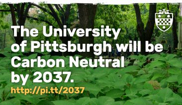 Pitt Commits to Achieve Carbon Neutrality