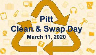 Pitt Clean & Swap Day – March 11, 2020