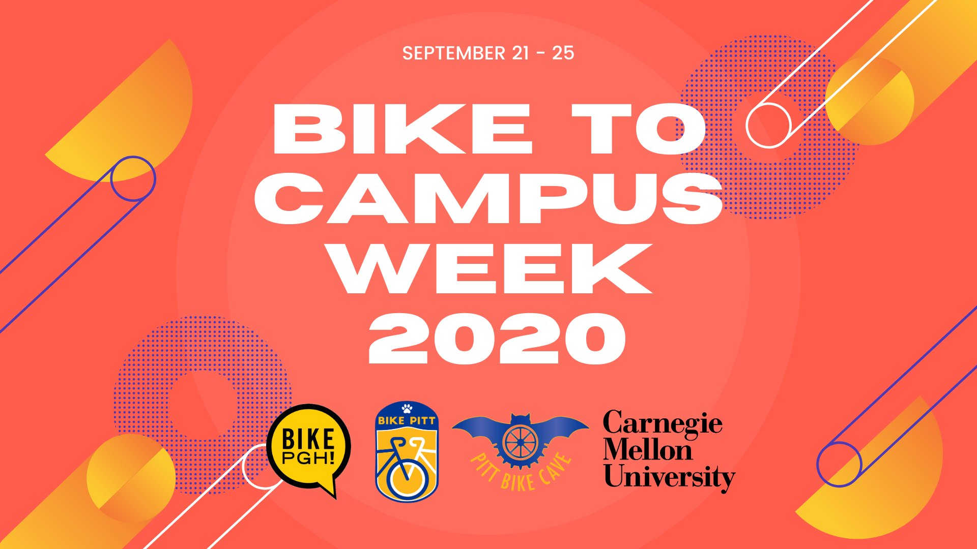 2020 Bike to Campus Week, September 21-25