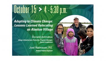 Green Speakeasy Showcasing Climate Equity is Oct 15!